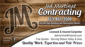 Jed Martinat Contracting